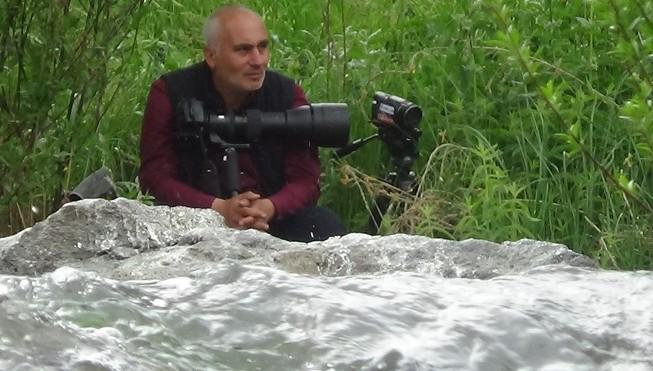 Haberci ve fotoğraf severlerden balık göçüne ilgi