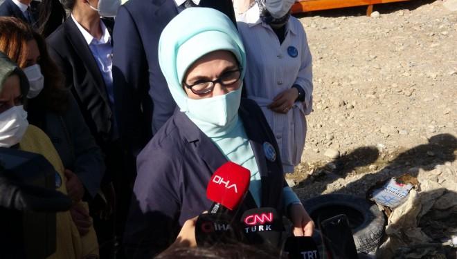 Emine Erdoğan: Van Gölü'nde keşfedilmeyi bekleyen bir tarih var (VİDEO)