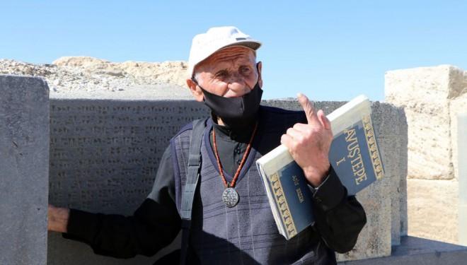 Dünyada Urartuca yazabilen tek kişi: Mehmet Kuşman