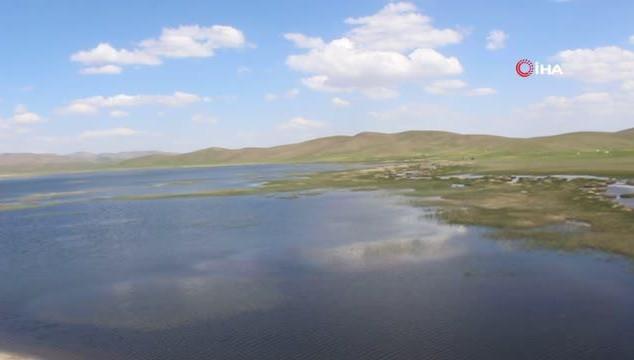 Van'da 2 bin 700 yıllık baraj gölü ekoturizme açıldı (VİDEO)