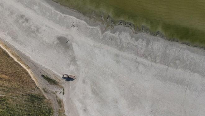 Van Gölü'nde buharlaşma korkunç seviyelere ulaştı
