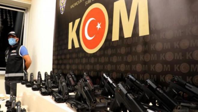 Van'da 1300 adet tabanca ele geçirildi
