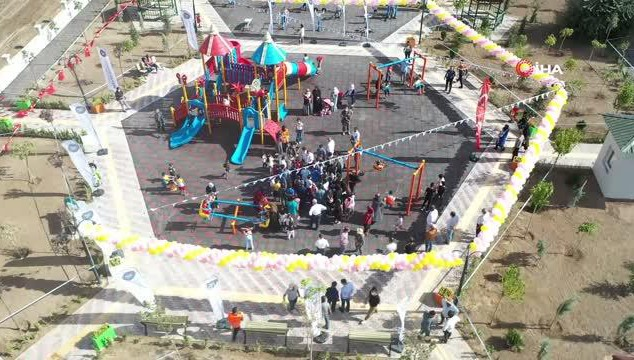 Dr. Daim Dirican Parkı açıldı