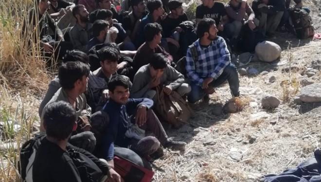 Van'da 25 düzensiz göçmen yakalandı!