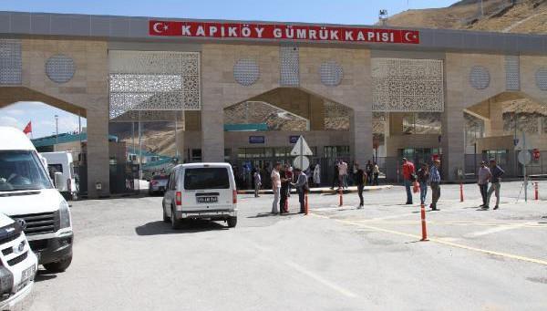 Kapıköy Gümrük Kapısı çift taraflı açıldı, geçişler başladı (VİDEO)