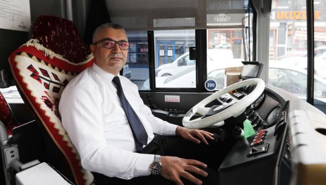Van'da otobüs şoförü hayat kurtardı