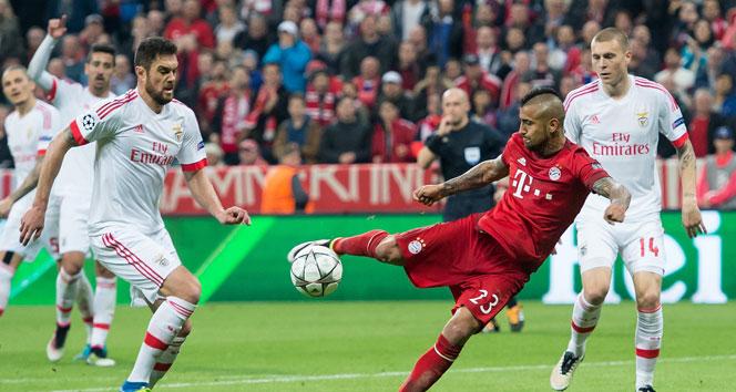 Bayern Münih 1-0 Benfica Maç özeti golleri