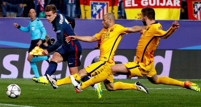 Atletico Madrid 2-0 Barcelona Maçı Golleri