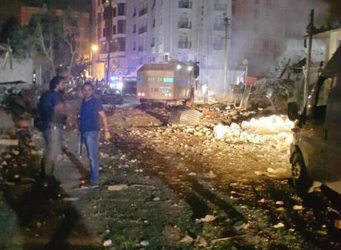 Van'da Büyük patlama