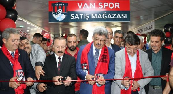 Van Spor Store Mağazası açıldı (VİDEO)