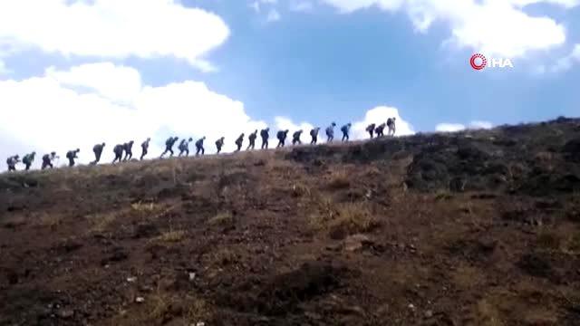 Vadi Doğa Sporları Kulübü üyeleri yine zirve yaptı (VİDEO)