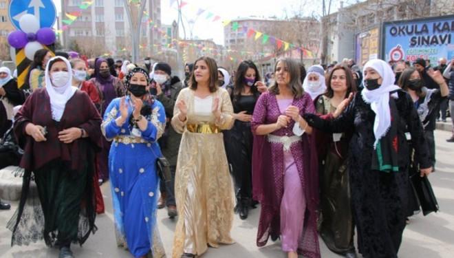 Van'da HDP tarafından 8 Mart Dünya Kadınlar Günü Etkinliği Düzenlendi