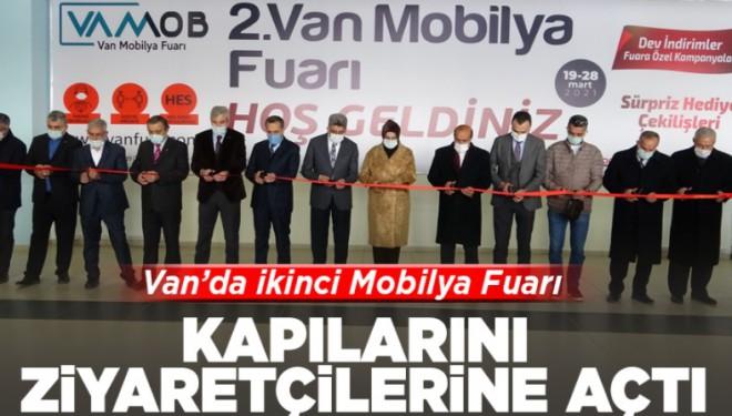 Van'da 'İkinci Mobilya Fuarı' kapılarını ziyaretçilerine açtı