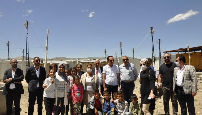 DEVA Partisi Van İl Yönetiminden Başkale Ziyareti