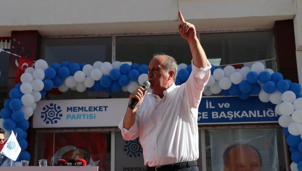 Muharrem İnce Van'da Konuştu: Senin Yerin Memleket Partisi!